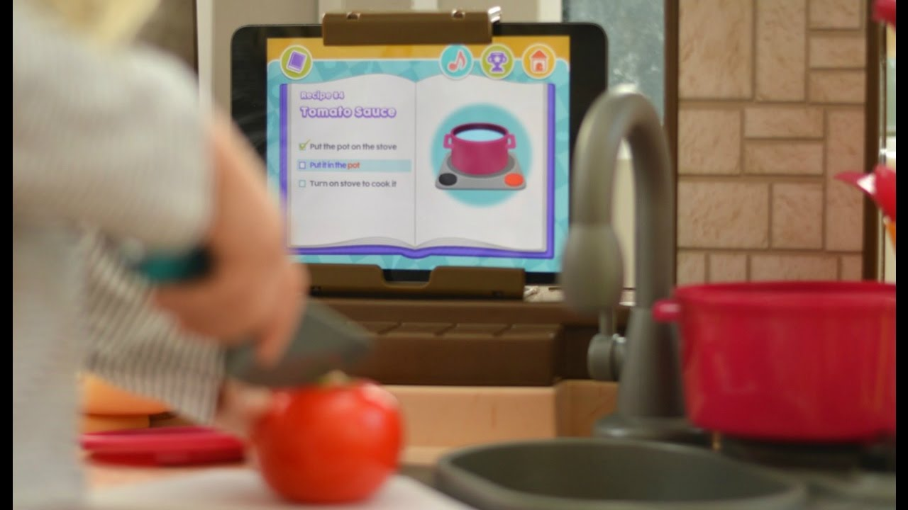 Smart Kitchen Little Tikes Cook N Learn Smart Kitchen Youtube