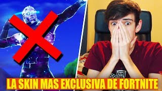 I HAVE THE MOST EXCLUSIVE SKIN OF FORTNITE! **NOT GALAXY** Vicens