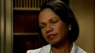Lawrence O'Donnell interviews Psychopath Condoleezza Rice 5/5/11