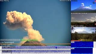 10/6/2019 - Mt Agung TimeLapse