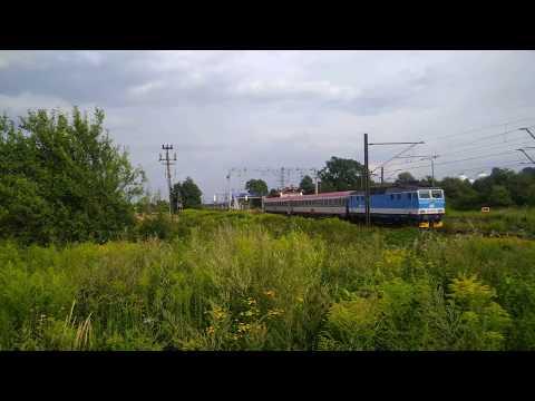 """163 040-9 """"Edyta"""" IC 205 """"Sobieski"""" Kraków Główny - Wien Hauptbahnhof"""