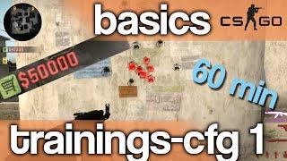 CS:GO - Basics - Trainings-Config - Zeit, Geld, noclip, usw [German/deutsch]