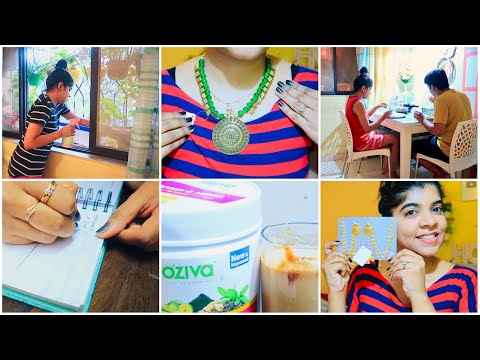 vlog-99-:-evening-to-night-time-routine-|-wedding-,party-jewellery-collection-|-ruchi-style-corner
