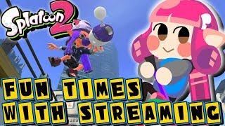 Fun Times With Streaming! Luna Blaster Neo, Private Battles and Mini-Games | (Splatoon 2)