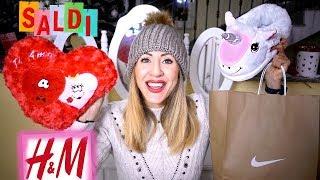 MEGA HAUUUULL 😍 SHOPPING CON I SALDI !!! Unicorni e.. un INTRUSO nel Video !!!! 🙈