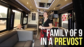 Touring Full Time Family RVs at Parade of Homes