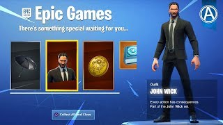 "NEW FREE JOHN WICK EVENT REWARDS! NEW ""WICK'S BOUNTY"" LTM Gameplay! (Fortnite Battle Royale LIVE)"