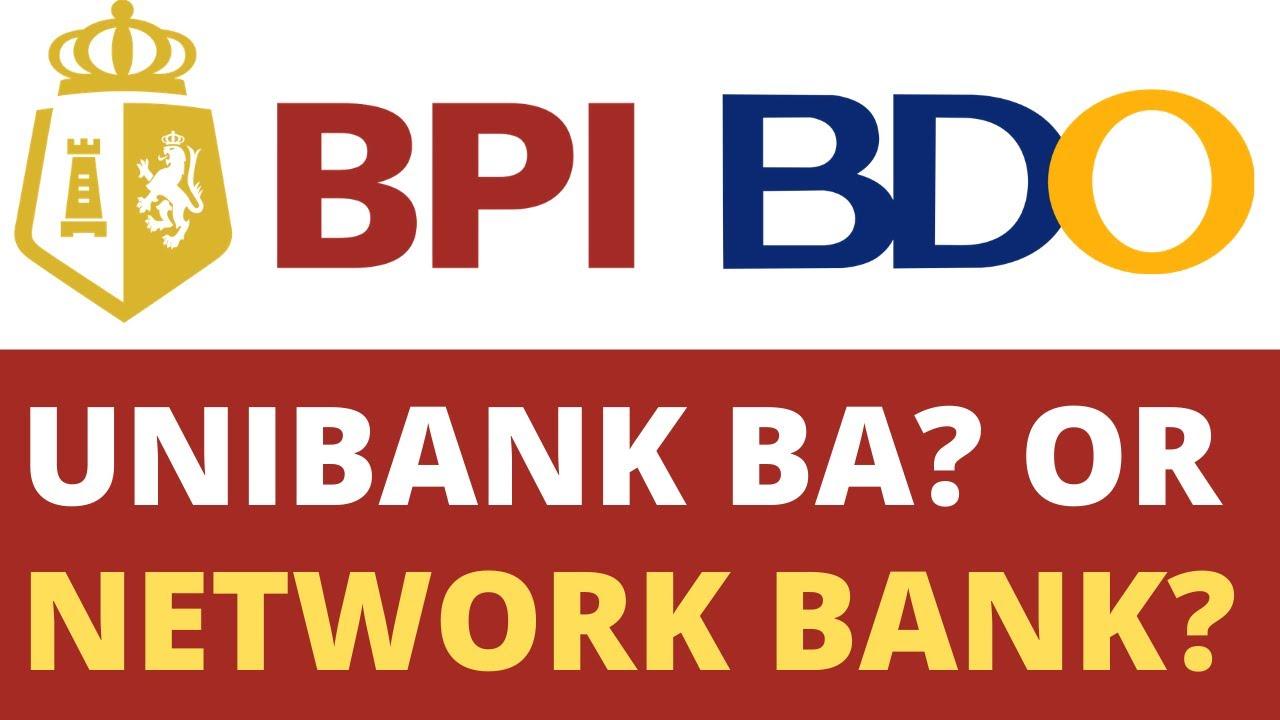 Bpi To Bdo Confused Ka Ba Kung Unibank Or Network Bank Youtube