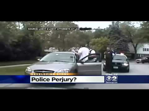 4 police officers charged with felony perjury for lying in c