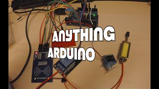 Create a simple electronic lock with RFID using a RC522 [Anything Arduino] (ep13)