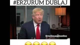 Erzurum'lu Donald Trump kars'lı Obama! Erzurum dublaj