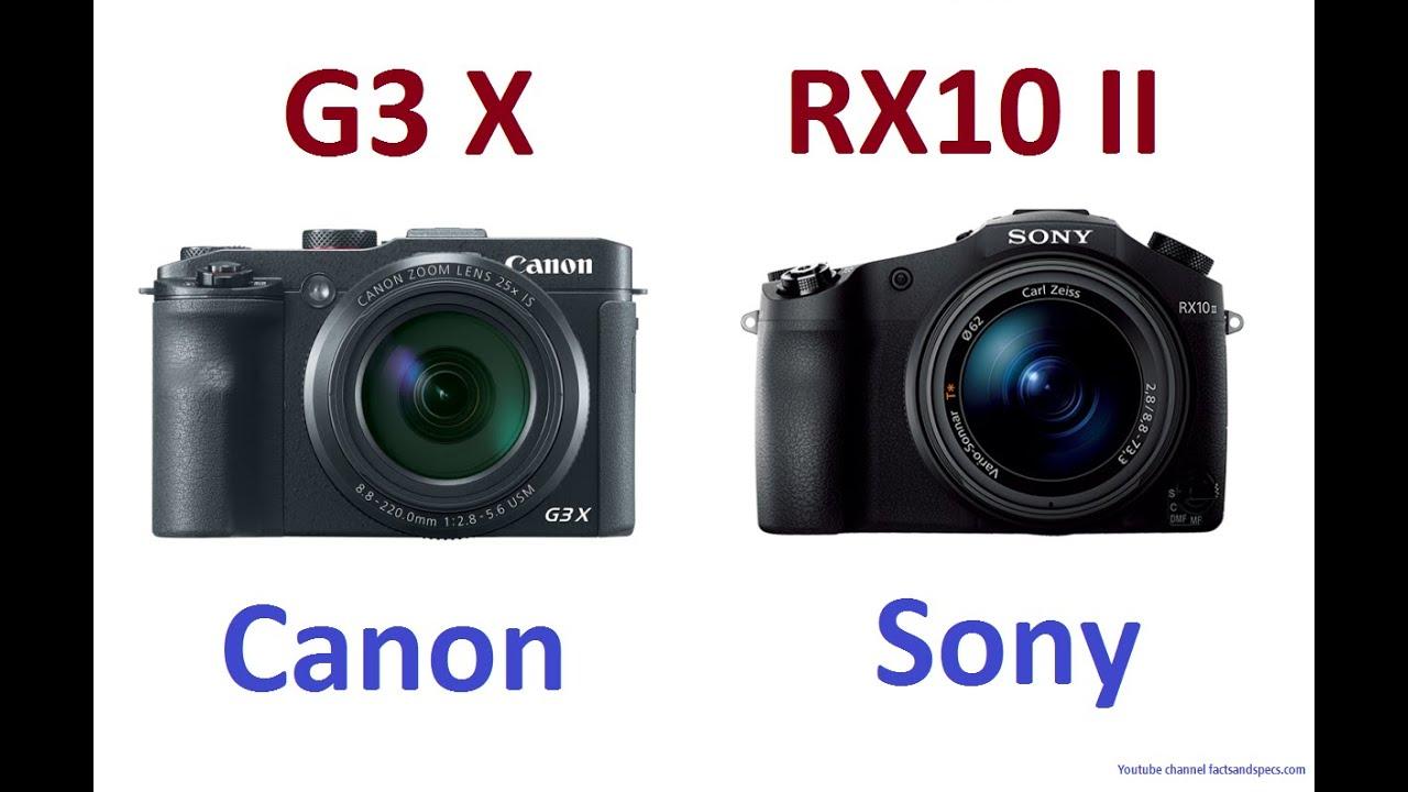 Canon PowerShot G3 X vs Sony Cyber-shot RX10 II | FunnyCat.TV