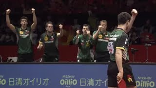 【世界卓球2014】団体決勝「中国vsドイツ」