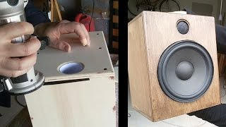 Homemade HT speakers