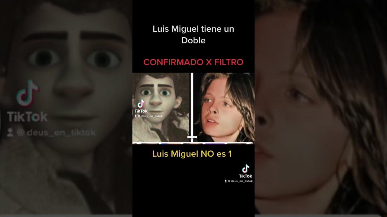 Filtro de Snap Chat confirma la existena de dobles en Luis Miguel