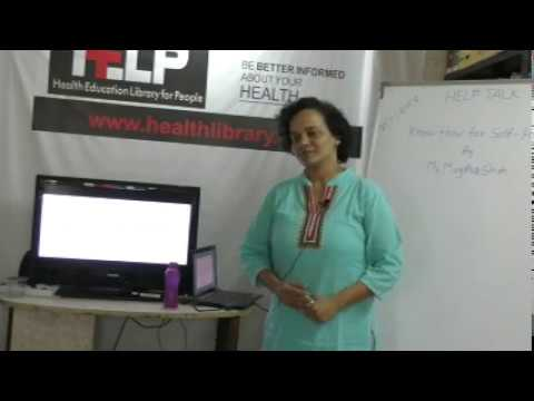 Know How for Self Help By Ms. Mugdha Shah on Health HELP Talks