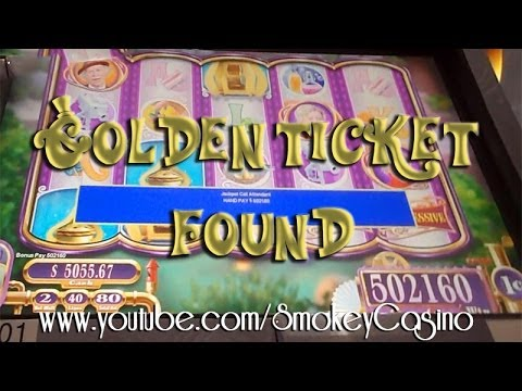 Willy wonka slot machine golden ticket odds gambling boats in memphis tn