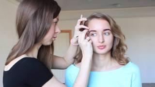 Быстрый макияж брови Nude визажист – Ирина Легостаева(, 2016-04-09T08:31:21.000Z)