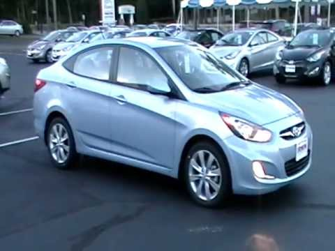 2013 HYUNDAI ACCENT GLS REVIEW ALLOYS FOGS WWW NHCARMAN COM