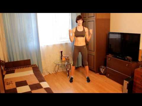 Упражнения против целлюлита на руках