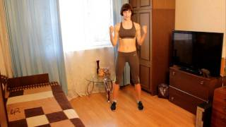 Упражнения против целлюлита на руках(Полную программу тренировок против целлюлита смотрите на сайте http://www.furor-dance.ru/, 2011-10-04T10:06:44.000Z)