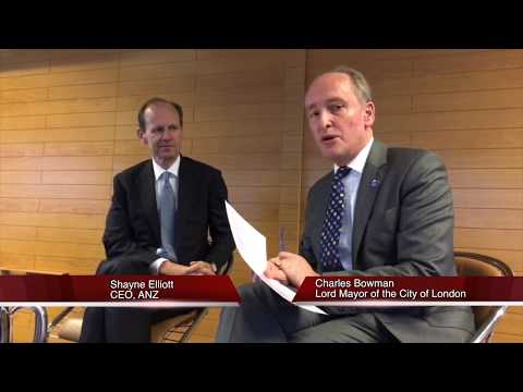 Lord Mayor interviews Shayne Elliott, CEO of ANZ Bank