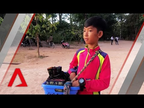Meet the Cambodian boy who speaks more than a dozen language