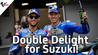 Key Story: Double Delight for Suzuki