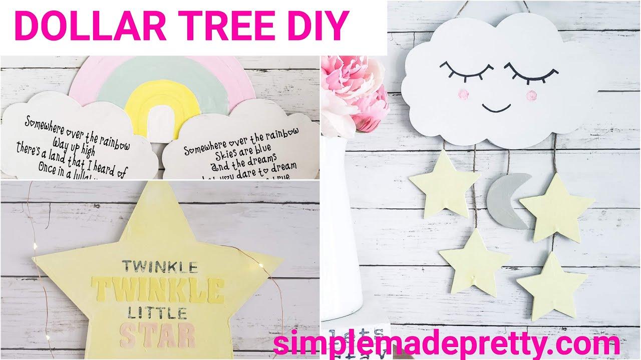DOLLAR TREE Nursery Decor DIY -Baby Decor, Kid