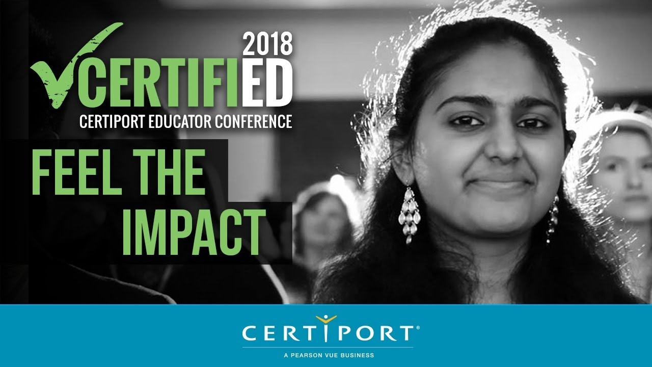 Certified 2018 Feel The Impact Of Certification Youtube