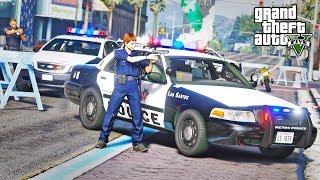 GTA 5 LSPDFR #326 - Another Bank Heist