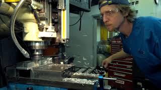 Machining on The Prototrak Mill