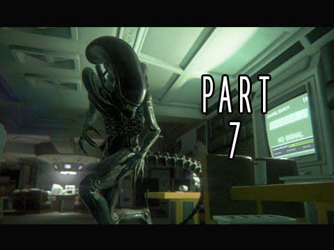 Alien Isolation Walkthrough Part 7 - Trauma Kit  (PS4 Gameplay Commentary)