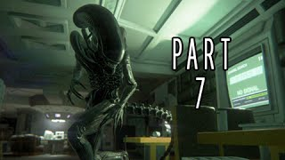Alien Isolation Walkthrough Part 7 - Trauma Kit  (PS4 Gameplay Commentary)