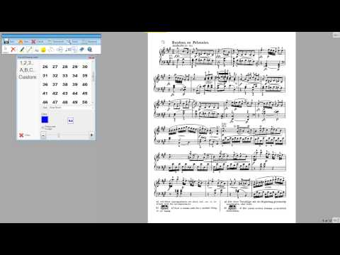 Page Navigation in Power Music Professional
