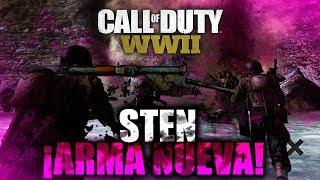 STEN NUEVO ARMA De Call Of Duty World War 2