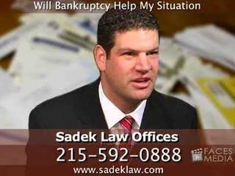 Will Bankruptcy Help My Situation In Pennsylvania?