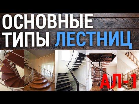 Основные типы лестниц - Все о лестницах!