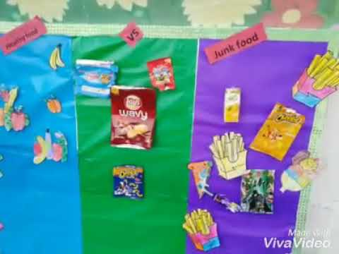 Healthy Food VS Junk Food  - Junior Section, The Knowledge City School