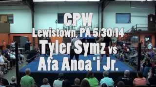 CPW - Tyler Symz vs Afa Anoa