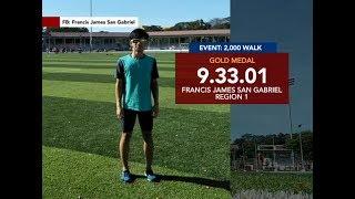 Ilang atleta, nakapagtala ng bagong record sa Palarong Pambansa 2018