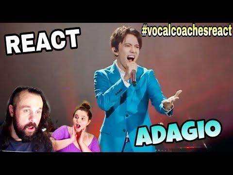 VOCAL COACHES REACT: DIMASH - ADAGIO