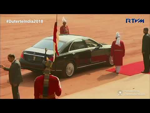 Arrival of ASEAN Heads of State and Government 1/25/2018