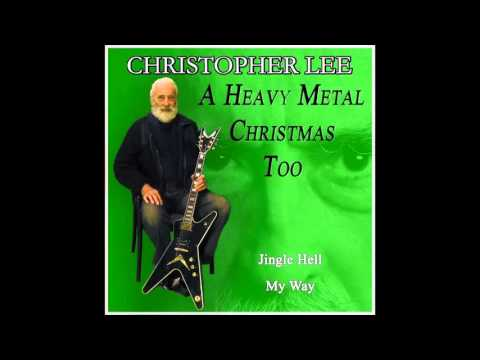 jingle hell christopher lee shazam - Christopher Lee Heavy Metal Christmas