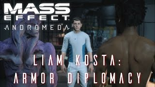 Mass Effect Andromeda - Liam Kosta Armor Diplomacy side quest