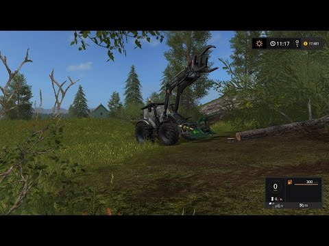 Lets Play Farming Simulator 2017 (PS4) | FORESTRY FRIDAY | The Forestry Business Evolves
