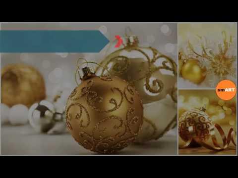 German Ornaments - Gold Christmas Ornaments