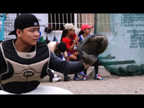 'Field of Dreams' offers baseball hope in Philippines