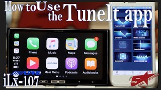 How to use the Tune It app  to get your EQ on your iLx Alpine radios
