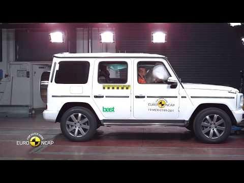 2019 NEW Mercedes-Benz G-Class - Euro NCAP Crash Test Video